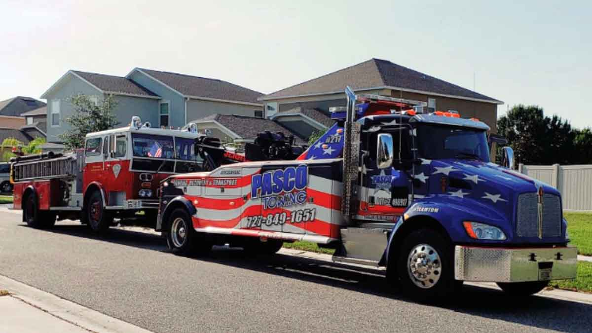 Heavy Truck Towing Recovery Pasco North Pinellas 727 849 1651 24 Hr Commercial Truck Towing Recovery Rotator Service