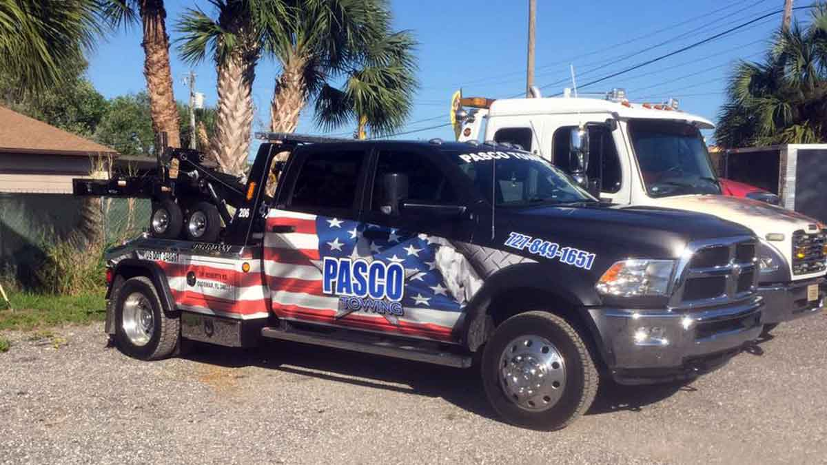 Motorcycle Towing Pasco - North Pinellas