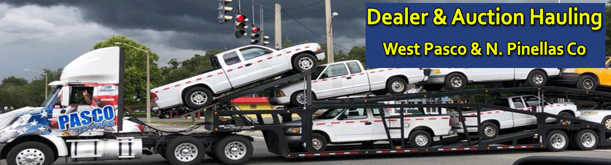 Towing Pasco & North Pinellas – Cheap Towing - 727-849-1651